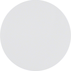 85141139 Bouton-poussoir simple,  R.1/R.3/Serie 1930/R.classic,  blanc polaire brillant