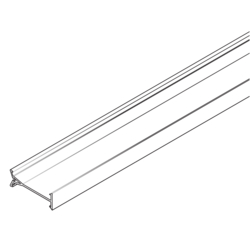 Product Drawing 60 x 230 mm, 2 éclisses, 4 agrafes Cloison PVC