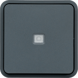 WNA003 cubyko 2-way with control light composable grey IP55