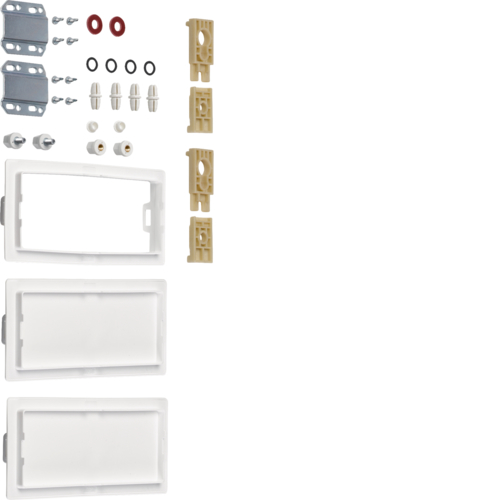 FZ443S Kit vertical armoire-armoire Univers 3 travées 2 armoires superposées l800 IP44