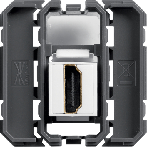 WXF633 HDMI socket gallery passthrough keystone