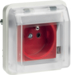 WNA105B cubyko Socket 2P+E detrompage composable white IP55